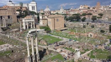 Roman Forum (from Palatine Hill)