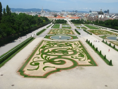 View from Upper Belvedere