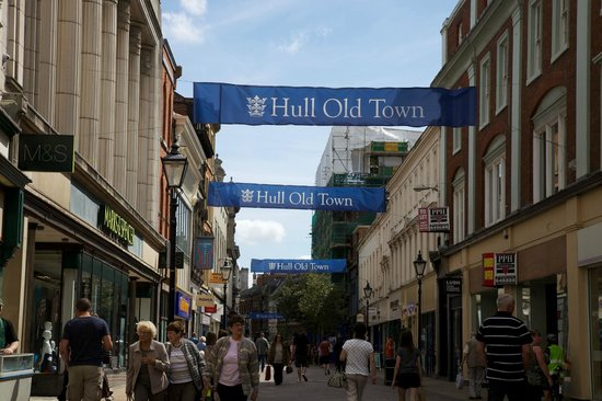 Hull old town image